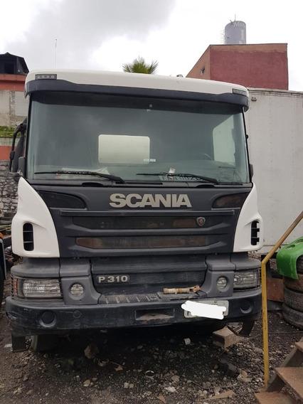 Scania P310 8x4 Betoneira Liebherr 2014