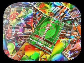 Lote 31 Cartas Pokémon: 10 Ex+ 10 Mega+ 10 Gx+ Mega Rayquaza