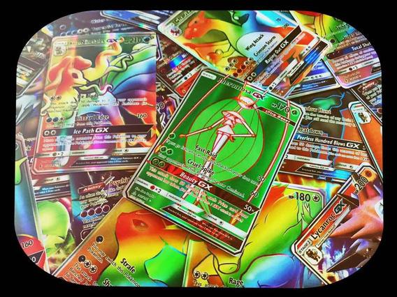 Lote 31 Cartas Pokémon : 10 Ex+ 10 Mega+ 10 Gx+ Charizard Gx