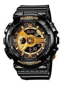 Relógio Casio Feminino Anadigi Ba-110-1adr