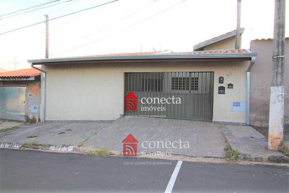 Casa Com 2 Dormitórios À Venda, 120 M² Por R$ 330.000,00 - Parque Das Árvores - Paulínia/sp - Ca0803