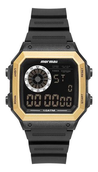 Relógio Masculino Mormaii Vibe Dourado - Original