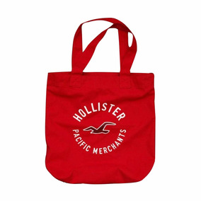 Bolsa Hollister By Abercrombie 100% Original Vermelha