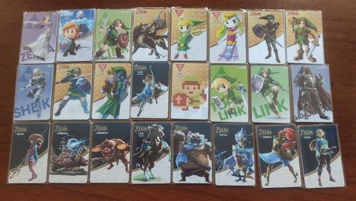 Set  Zelda Breath Of The Wild Tarjetas Amiibos (24 Unid)