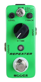 Pedal Mooer Repeater Digital Delay 3 Modes Mdl1 Original