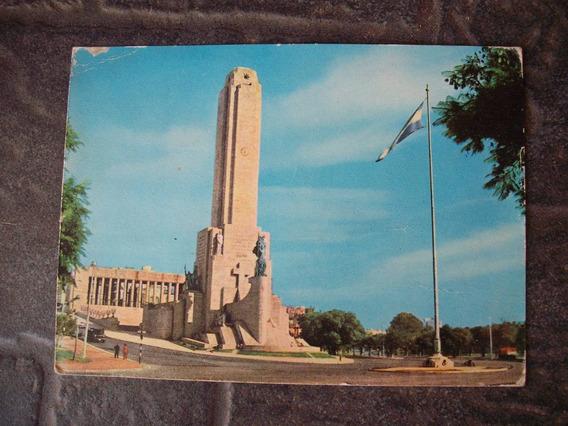 Antigua Postal Rosario Argentina Monumento A La Bandera