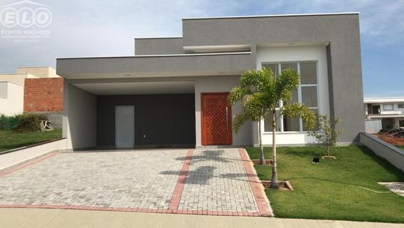 Linda Casa Nova No Condomínio Maria Dulce Indaiatuba/sp - Ca04787 - 34585149