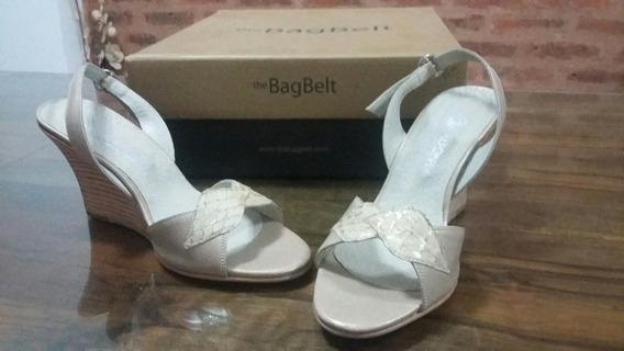 Zapatos-sandalias De Cuero