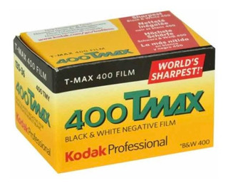 Rollo Kodak T-max 400 35mm X 36 Fotos Blanco Y Negro