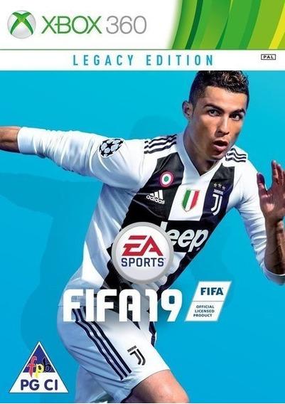 Fifa 2019-xbox 360-midia Digital