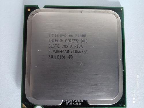 Processador Core 2 Duo E7500 2.93ghz