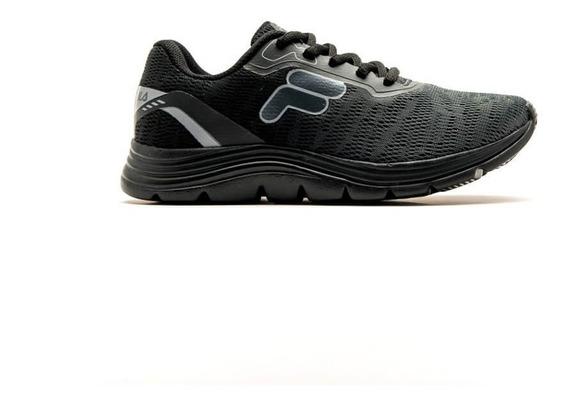Zapatillas Fila Running Niño Volt Negro-grafito-plata Cli