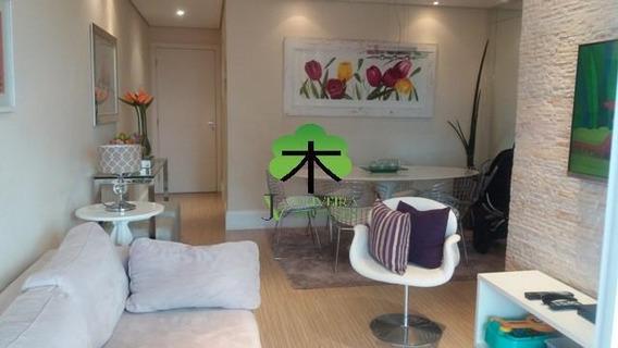 Apartamento Residencial De 73m², 3 Dormitórios, 2 Vagas De Garagem!!! - Ap0464