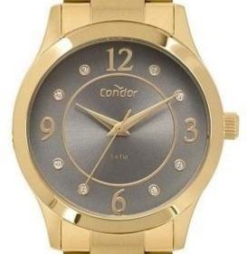 Relógio Condor Feminino Analógico Dourado Garantia 1 Ano