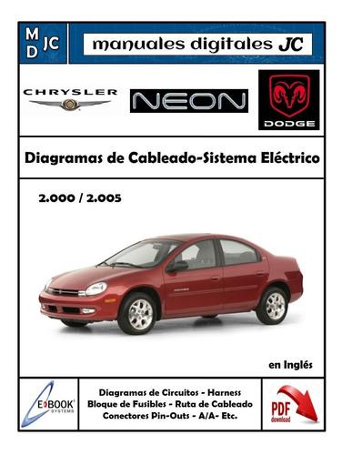 Manual Diagramas Sistema Electrico Chrysler Neon 2000