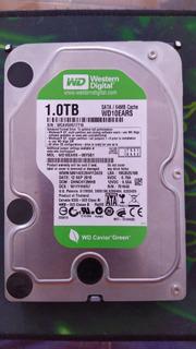 Disco Duro Probado Wd Green 1tb 64mb Cache