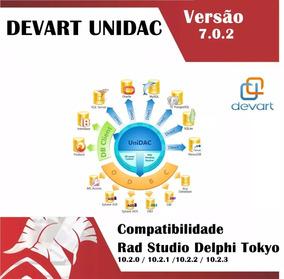 Devart Unidac Versão 7.0.2 Delphi Rad Studio 10.2.3 Tokyo