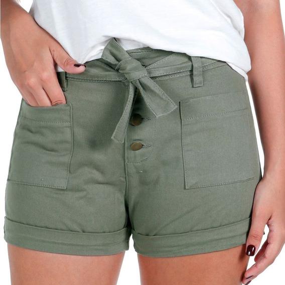Shorts Feminino Dakar Salta Verde
