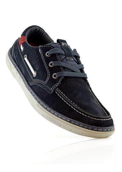 Zapatos Nauticos Hombres Cuero 115905-08 Pegada Luminares