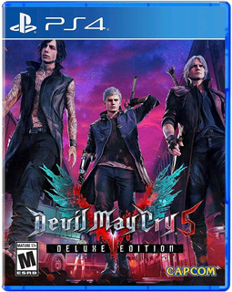 Devil May Cry 5 Deluxe Edition ~ Ps4 Digital Español