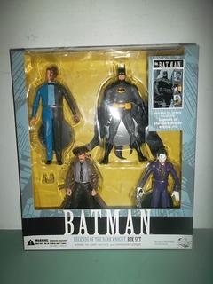 Set Dc Direct Batman Two Face Dos Caras Gordon Joker Guason