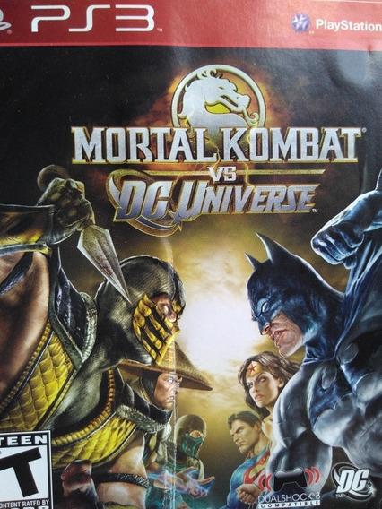 Mortal Kombat Dc Universe Ps3 Original , A Pronta Entrega