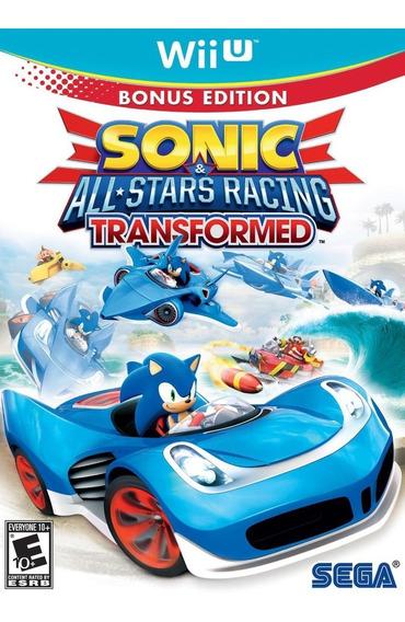 Sonic & All-stars Racing Transformed - Digital Wii U