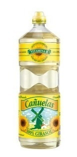 Aceite Cañuelas Girasol 1,5 Lt Caja Por 12 Uds