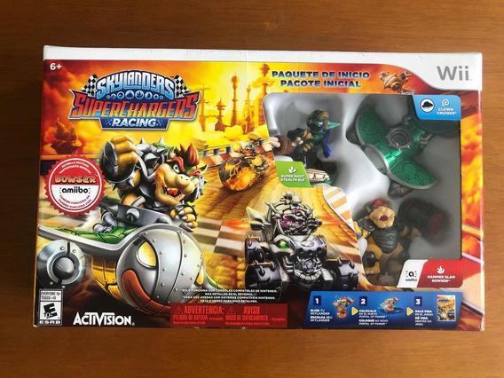 Skylanders Racing Superchargers Wii Starter Pack Lacrado