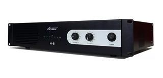 Potencia Amplificador Apogee H8 300w + 300w 4ohms Audio Pro