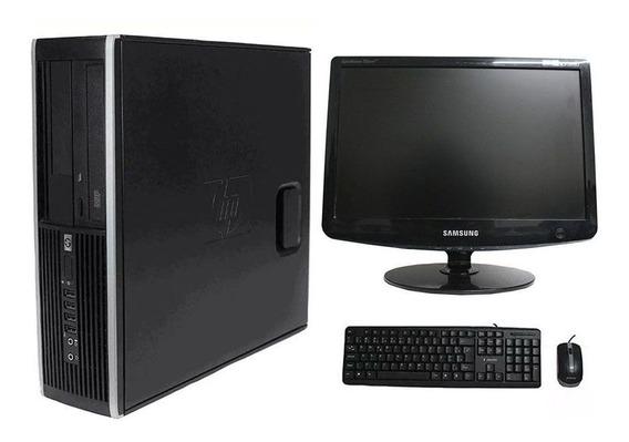 Computador Hp Elite 8100 I5 4gb 240ssd Monitor 17 Polegadas
