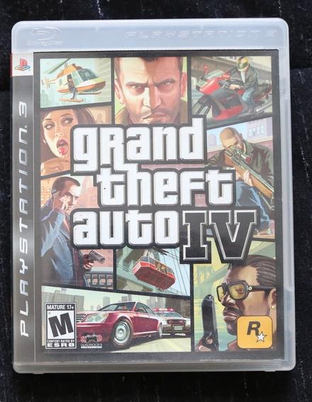 Grand Theft Auto 4 Para Ps3 Em Perfeito Estado