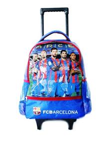 Barcelona Pulgadas Carro 17 Primaria Mochila Messi Original R35j4AL