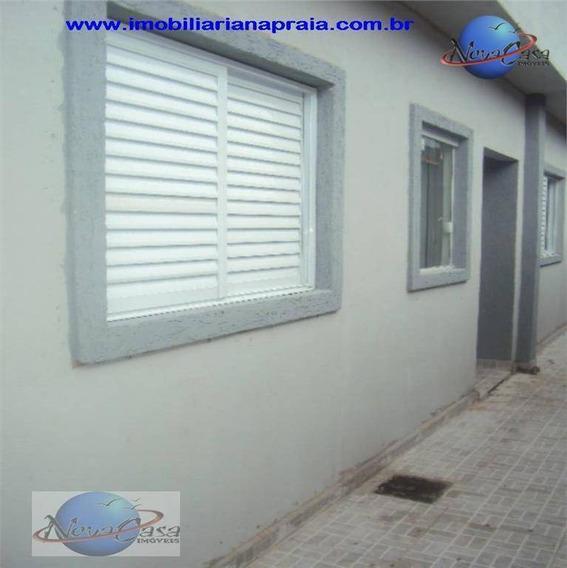 Casa 2 Dormitórios, Tude Bastos, Praia Grande. - Ca3161