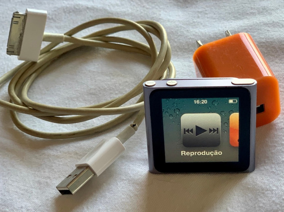 iPod Apple Nano 8gb 6a Ger. (mc688ll)