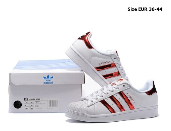 whisky Saltar Implacable  Zapatillas Adidas Superstar Rojas | MercadoLibre.com.pe