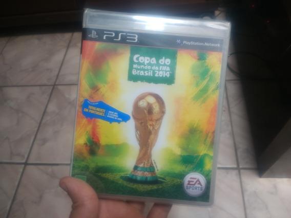 Copa Do Mundo Fifa 2014 Em Português Original Lacrado Ps3