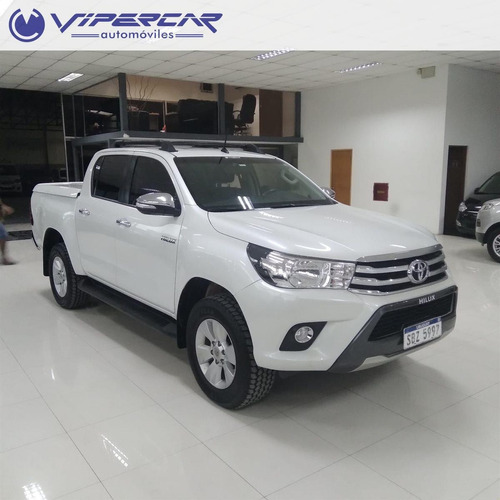 Toyota Hilux Srv 4x4 2.7 2016 Impecable!
