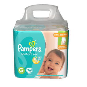 Fralda Pampers Confort Sec Jumbo