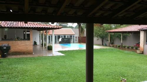 Chacara Para Venda No Portal Dos Ipes Em Ribeirao Preto, Area Total 1000 M2 E Area Construída 496 M2, Com Canil Profissional, Casa Principal E Piscina - Ch00034 - 67695466