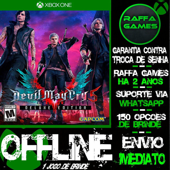 Devil May Cry 5 Deluxe Edition Xbox One Offline + Brinde