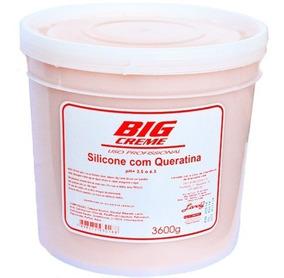 4 Unidades Balde Hidratação Silicone/queratina Lánoly 3,6 Kg