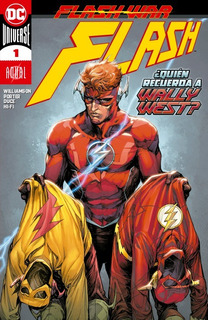 Comic Dc Universe Flash # 1 Anual Flash War Español