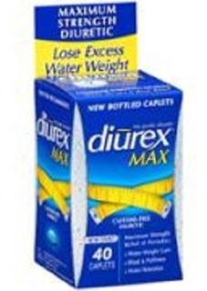 Diurex Max 40 Cps - Diurético Importado