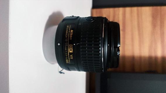 Lente Nikon Af 18-55mm 1:3.5-5.6g - Nikon
