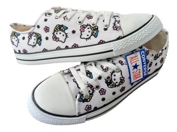 Tenis Unisex Style Converse Hello Kitty