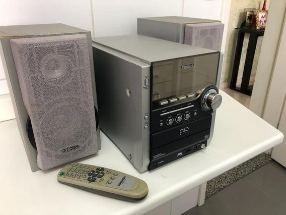 Micro System Semp Toshiba Mc 855mus - Tudo Funcionando!