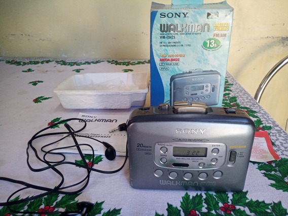 Walkman Sony Fx425 Com Mega Bass