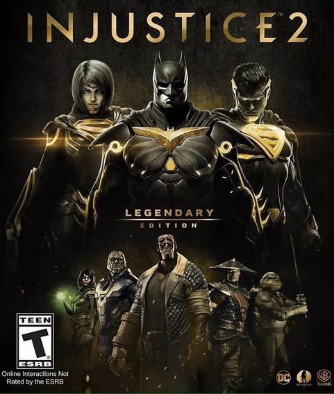 Injustice 2 Legendary Edition Steam Pc Key Envio Imediato