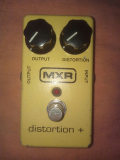 Pedal Mxr Distortion Plus +